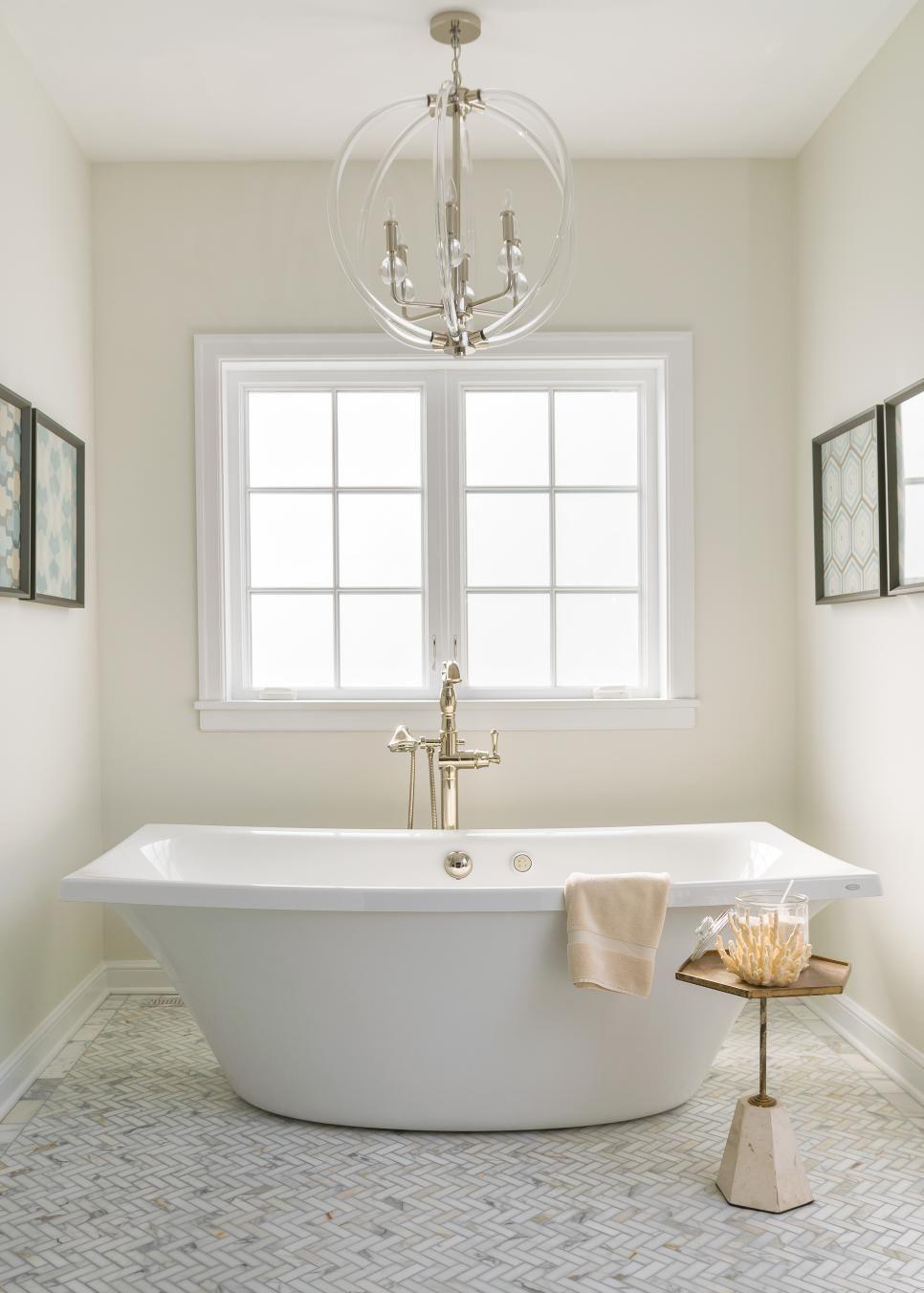 Neutral Bright Master Bathroom Oasis Bathrooms Pinterest
