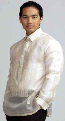 Barong Tagalog   groom   Barong tagalog, Barong, Filipino wedding