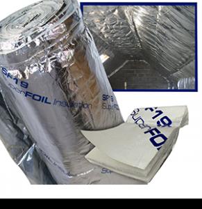 Superfoil Sf19 Multi Layer Foil Insulation 1 5m X 10m Roll 15m2 Reflective Insulation Foil Insulation Radiant Barrier