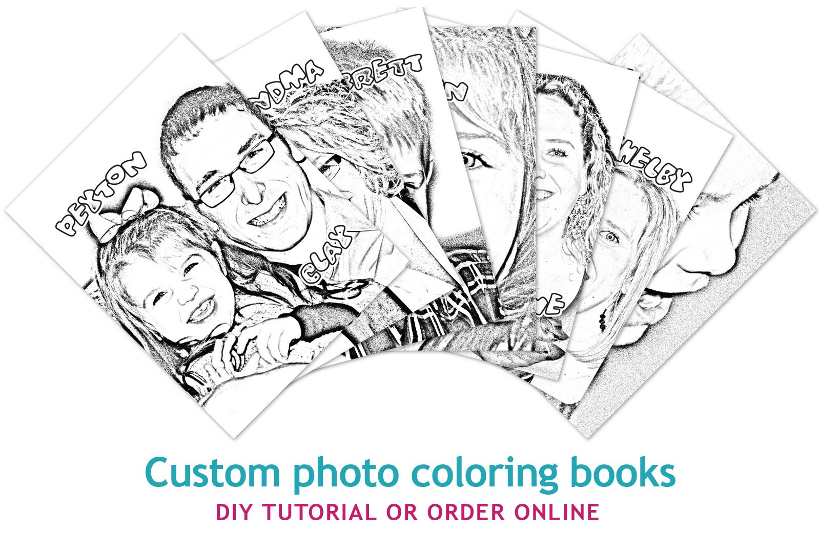 DIY: Photo Coloring Book - fun time filler for my photo students