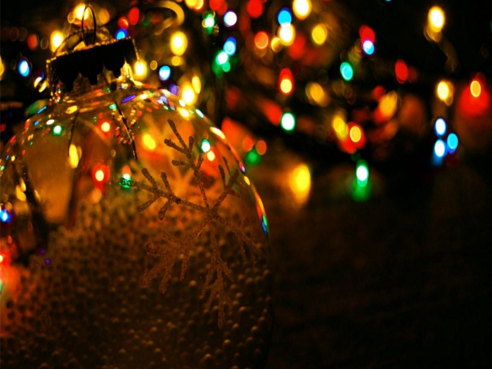 christmas lights photos | Christmas Lights Background Wallpaper ...