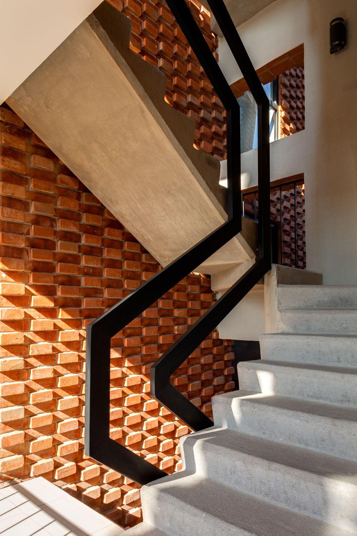 Fluidez low tech vivienda tecnologia mexico recomendados - Escaleras de ladrillo ...