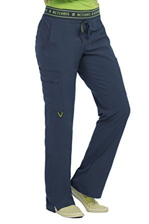 70689b2ccb0 Amazon.com: Med Couture Women's 'Activate' Flow Scrub Pant: Clothing