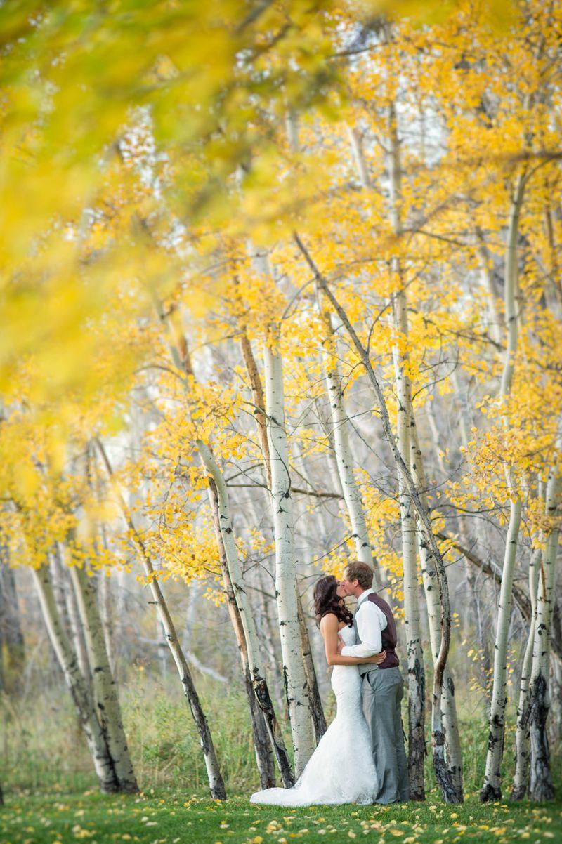 Montana Fall Wedding Photography Amelia Anne Venue Le Petit Chateau