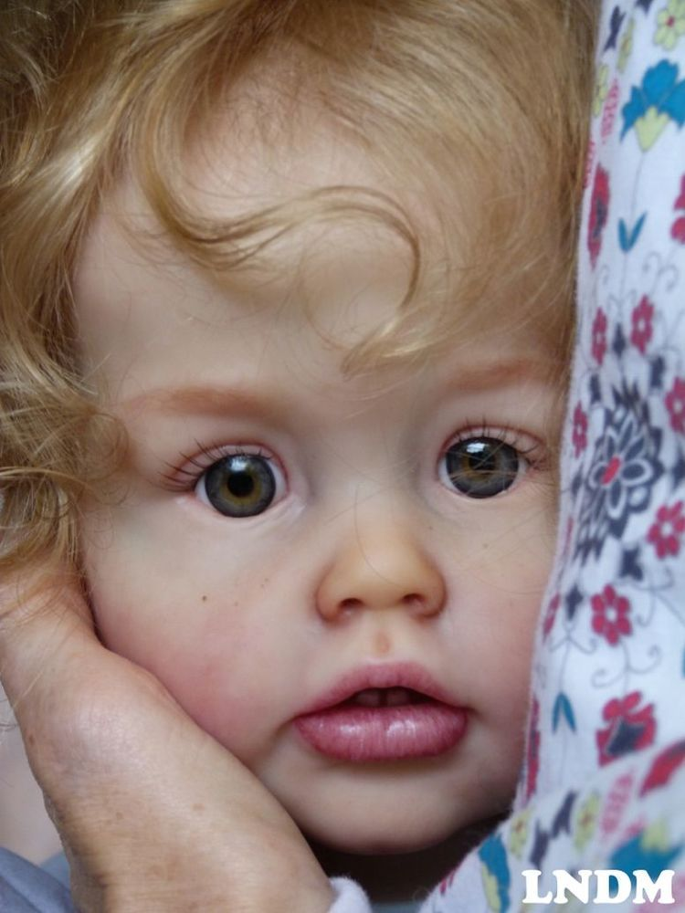 Reborn Doll ,baby Girl, Toddler, Prototype Ariel, Joanna