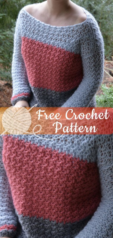 Crochet Sweater free patterns - Womens Clothing #crochetclothes