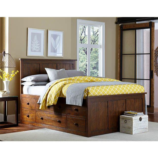 Homestead Queen Storage Bed Bernie And Phyls Bernie