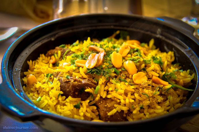 Bedouin Gallayah is cooked with meat or chicken, tomatoes, onions ...