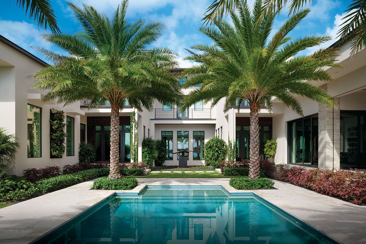 Paradise Found Small Pool Design Pool Houses House Exterior