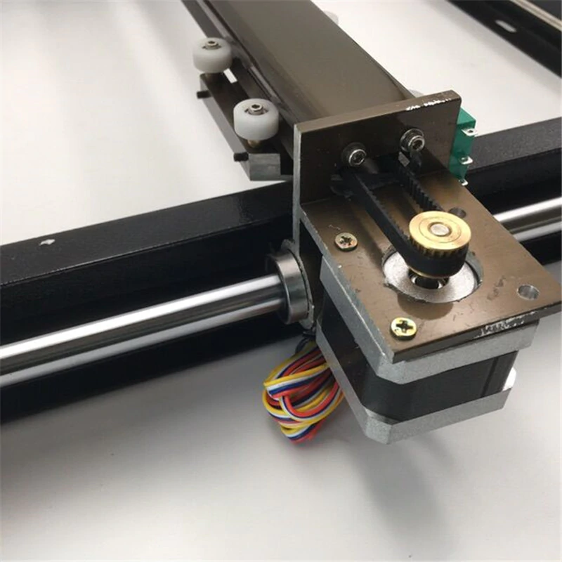 Assembled 1set Cnc X Y Stage Table Bed Kit For Diy Co2 Laser Machine Mechanical Kit Working Size 300x200mm Buy At The Price Of 189 99 In Aliexpress Com Cnc Engraving Machine Laser
