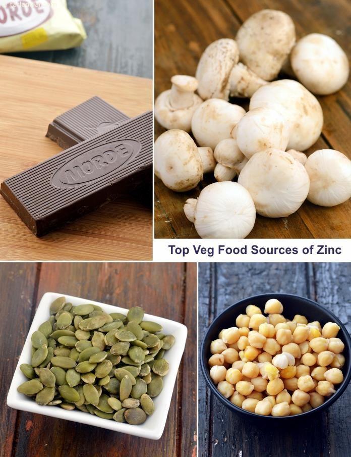 High Zinc Veg Food Sources Vegan zinc sources, Healthy