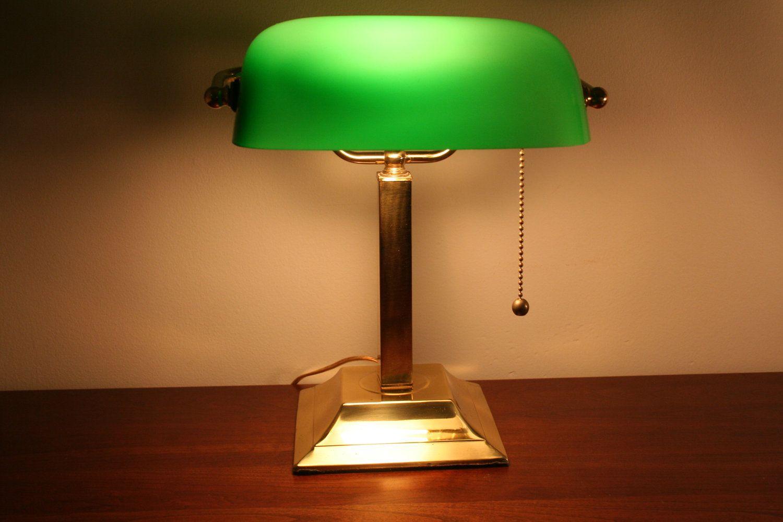Bankers Lamp Google Search His Bankers Lamp Glass