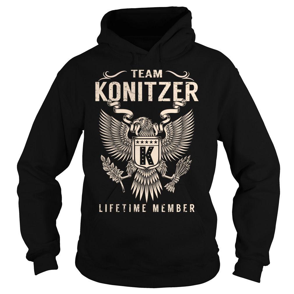 Team KONITZER Lifetime Member - Last Name, Surname T-Shirt