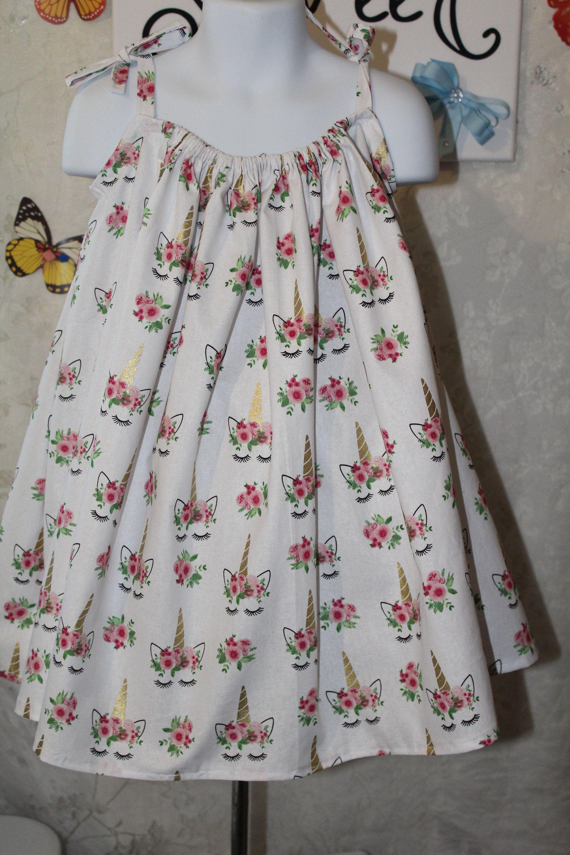 Handmade Unicorn Dress Size 3 4t Sleeveless White Cotton Below Etsy Unicorn Dress Little Dresses Toddler Gifts [ 3000 x 2000 Pixel ]