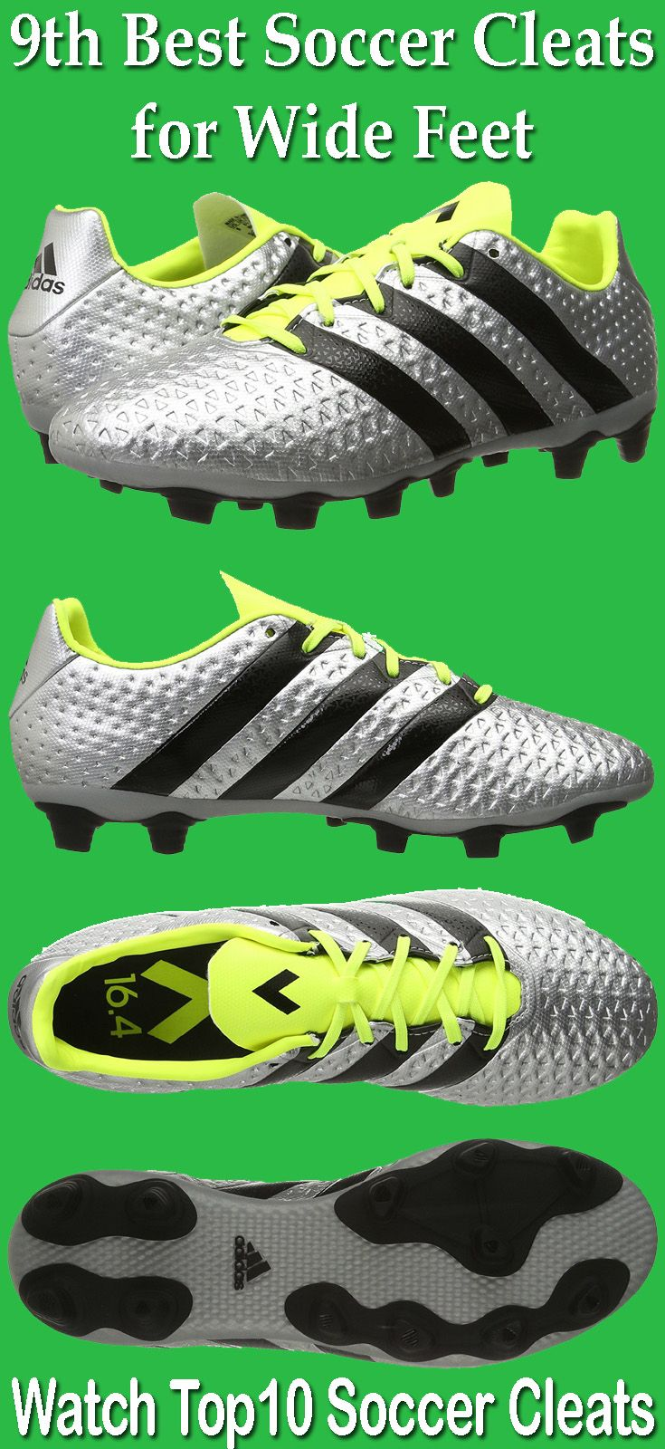 adidas Performance Men s Ace 16.4 FXG is one of the best soccer cleats for  Wide Feet. 0e9abedb9c1b
