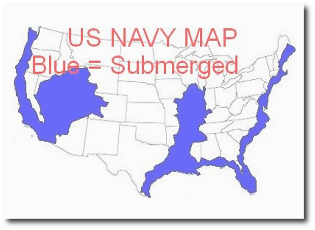 Future Maps Of The United States WHY GOD Pinterest Thoughts - Us navy future map of united states
