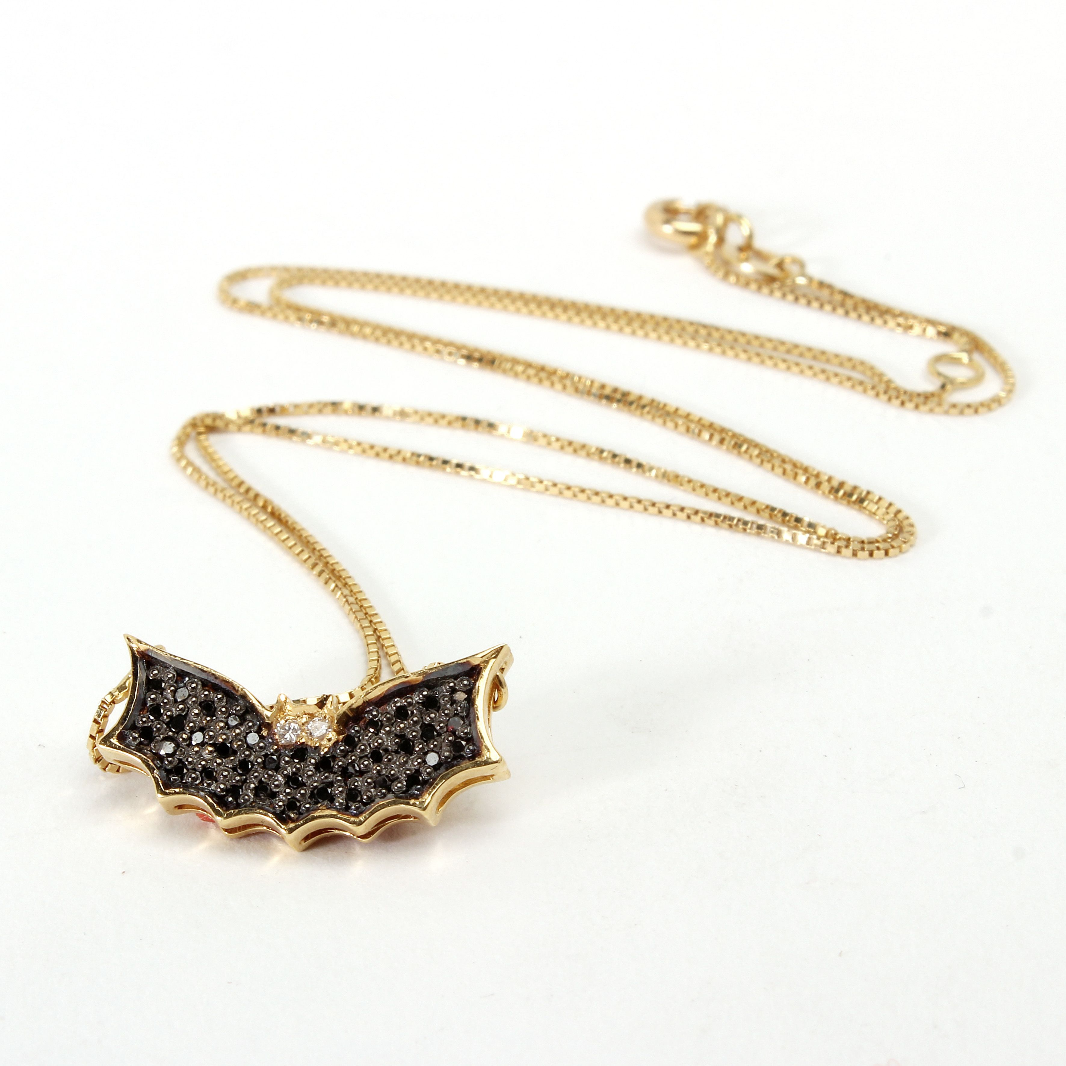 Bat Pendant - House Collection  See more on http://www.oleanajewelry.com/