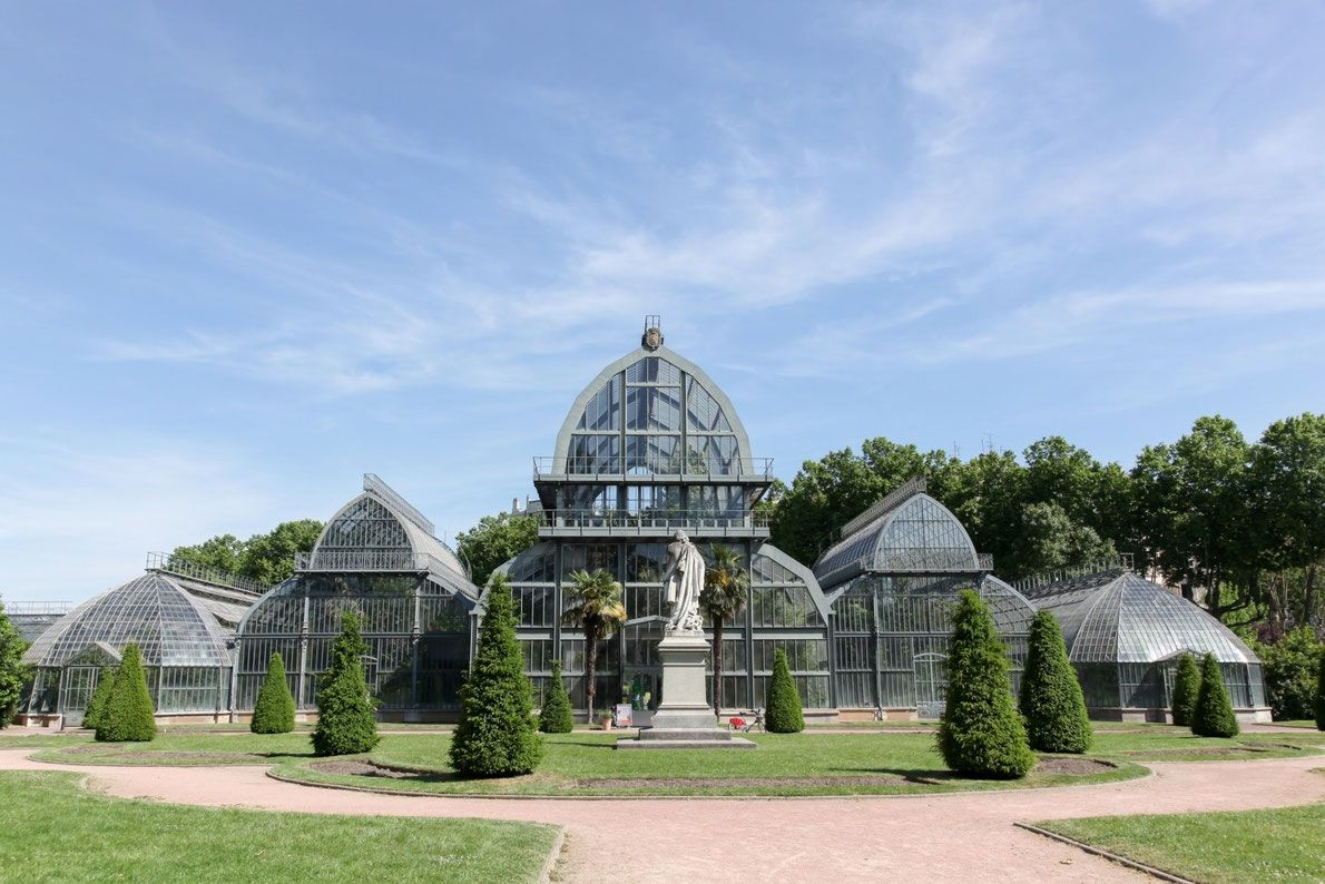 Botanical Garden Lyon - Best Green Houses in Europe - European Best Destinations Copyright ricochet64