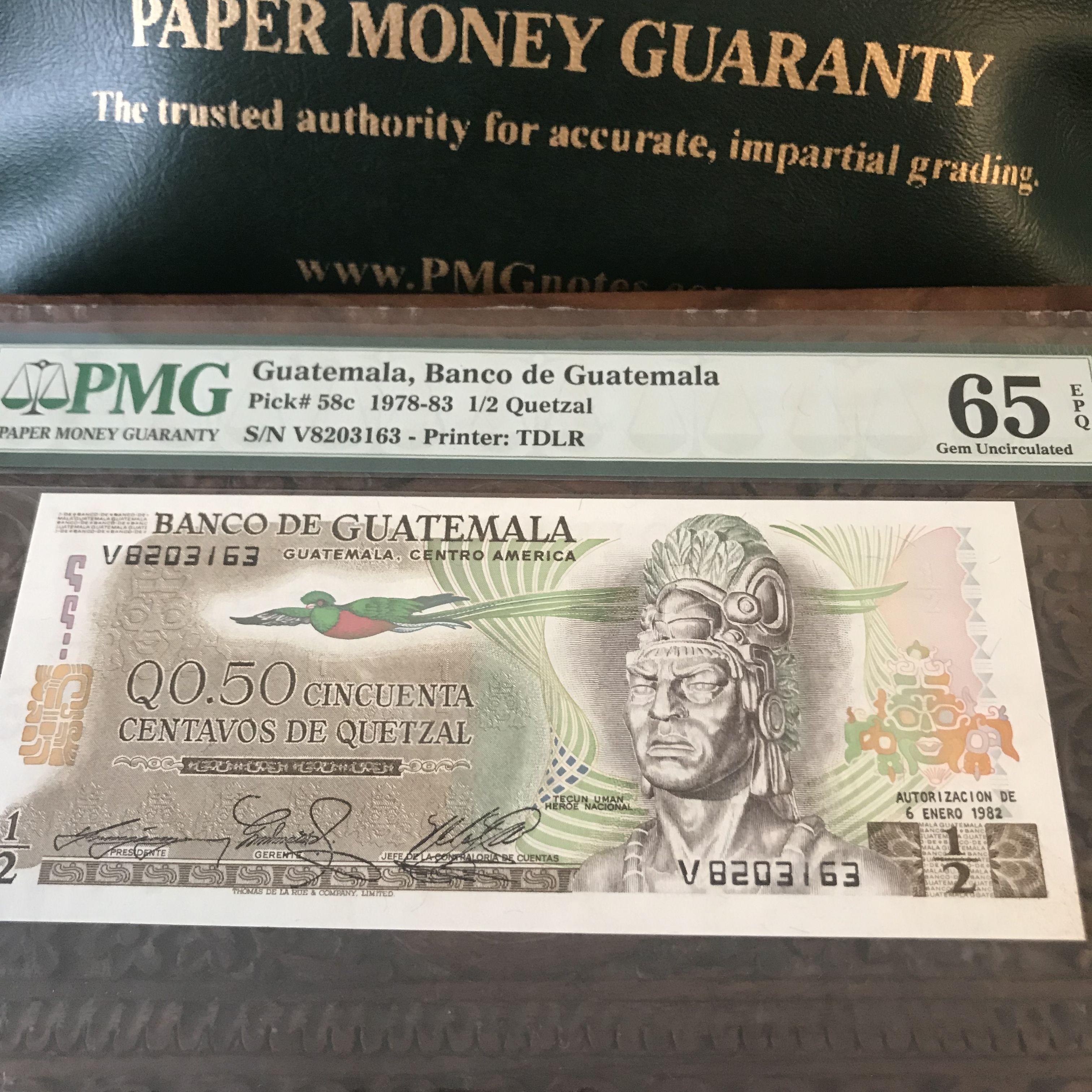 Beautiful 1 2 Quetzal From Guatemala Tecun Uman