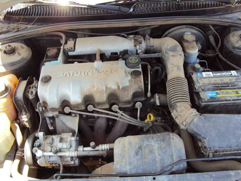 DIY How to install replace the starter Saturn SL2 √ - YouTube