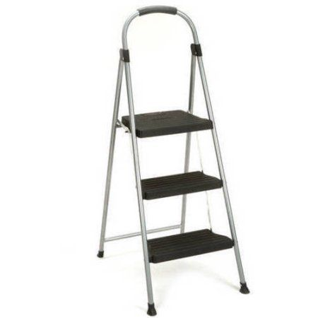 Pleasing Cosco 3 Step Steel And Resin Folding Step Stool Walmart Caraccident5 Cool Chair Designs And Ideas Caraccident5Info