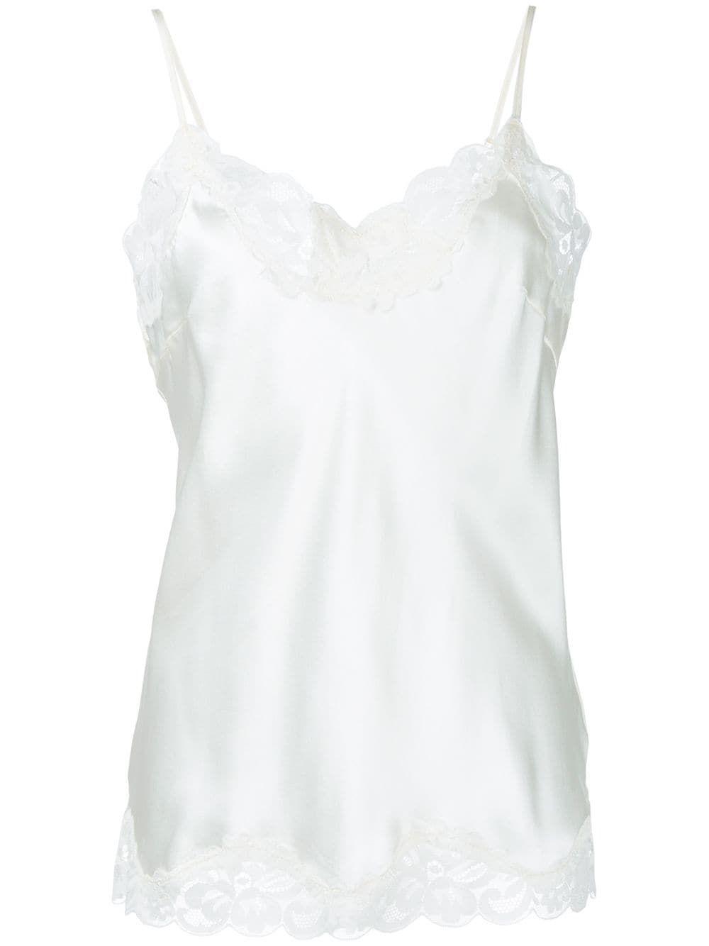 Women/'s Camisole Pajama Top Betsey Johnson White or Orange Adjustable Straps NEW