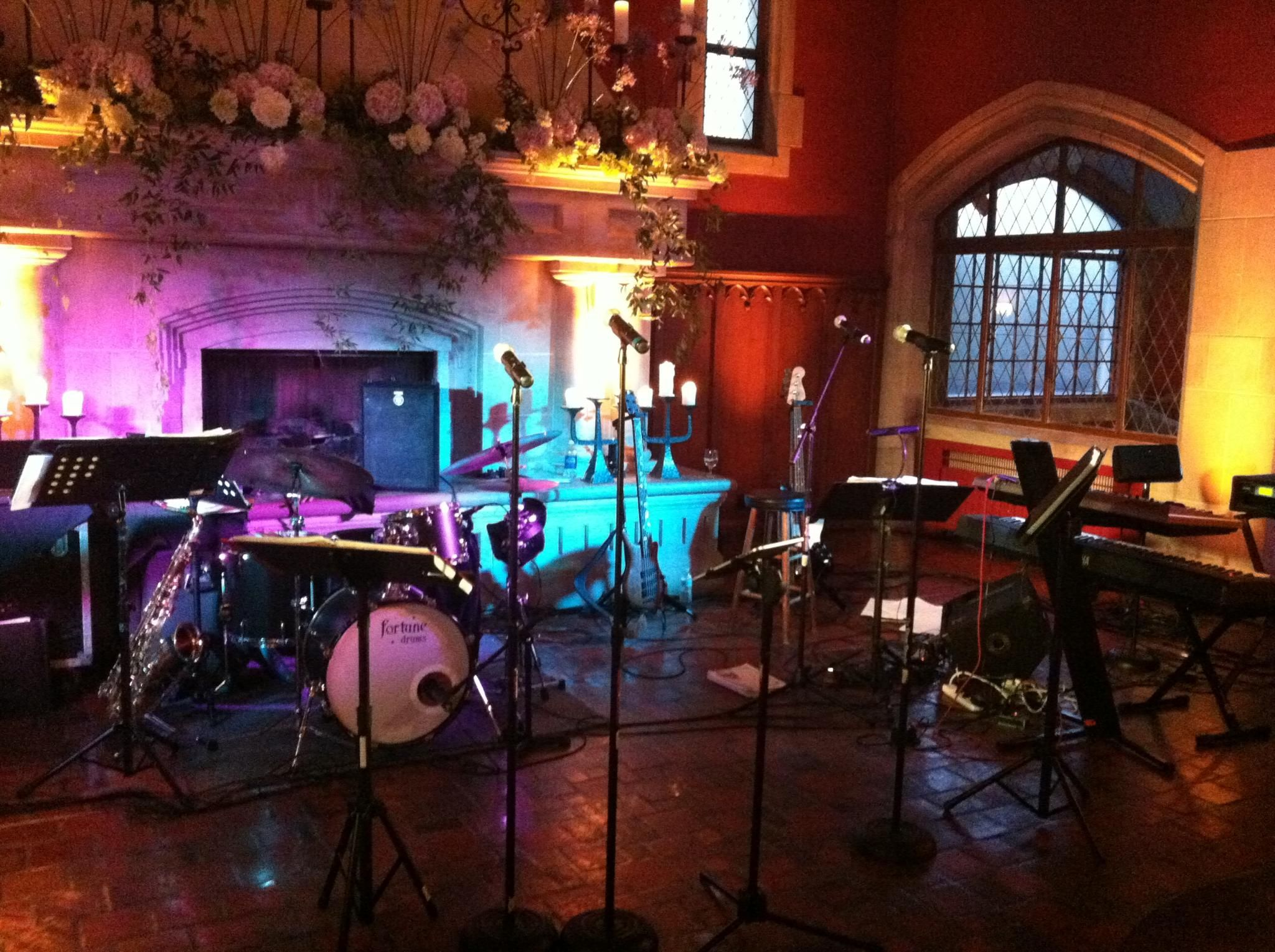 The avenueus set up for hallie u elliottus reception
