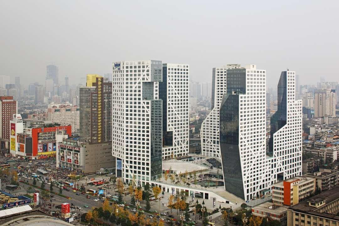 Sliced Porosity BlockbySteven Holl Architects, Chengdu, China