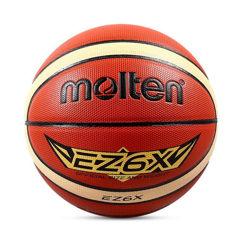 Official Original Molten Ez6x Basketball Ball New Arrival Pu Leather Size 6 Outdoor Game Basketball Gift Pin Net Basketball Gifts Basketball Ball Basketball