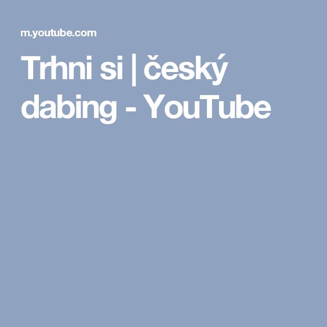 2f30d41ef Trhni si | český dabing - YouTube | filmy | Videá, Rozprávky