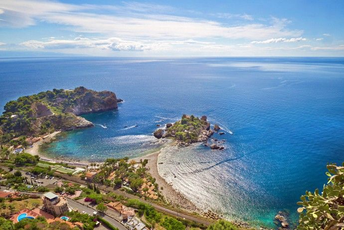 Isola Bella, Taormina Mare From Favourite Beaches