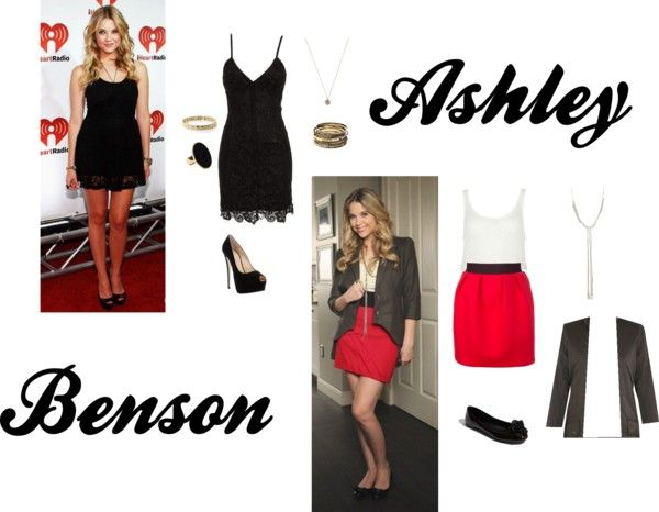 """Ashley Benson"" by beatriz-aguilar ❤ liked on Polyvore"