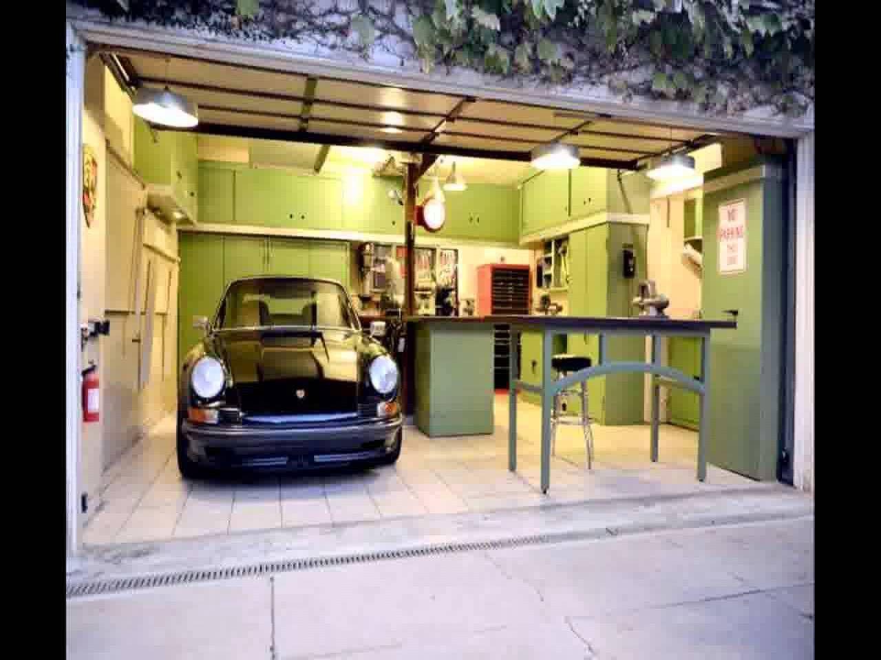 New Garage Workshop Design. Designer Garage. 12465876 Cool Garage ...