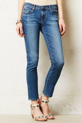 AG Stevie Ankle Jeans #anthroregistry