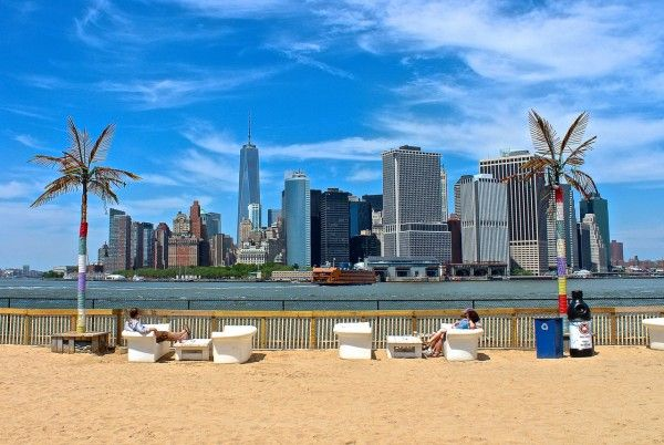 Water Taxi Beach On Governors Island