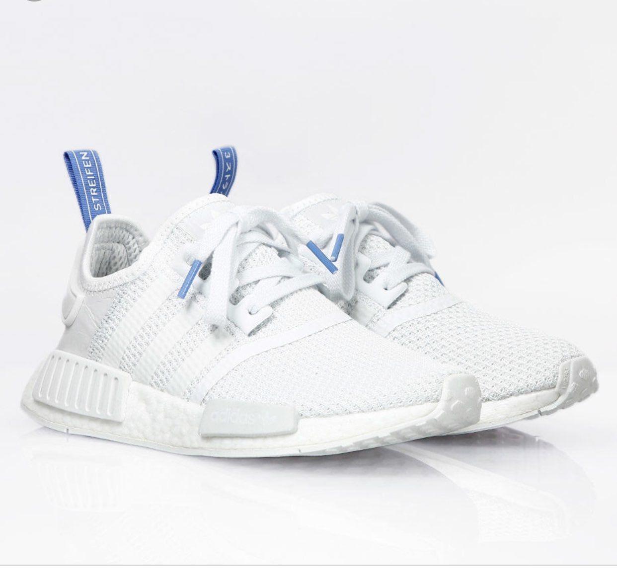 Adidas nmd r1 crystal white clear lilac
