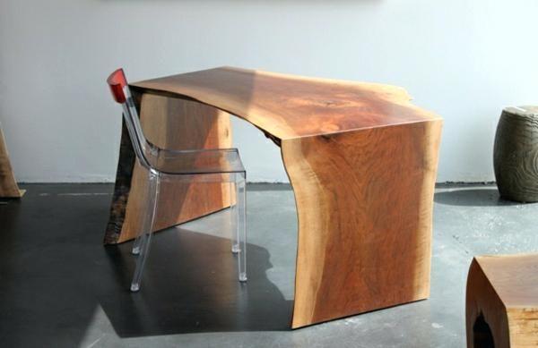 Bureau bois naturel bureau bois brut bureau bois brut a peindre