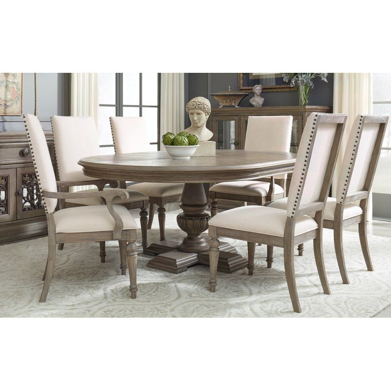 Bonham 7 Piece Extendable Dining Table Set Round Dining Room