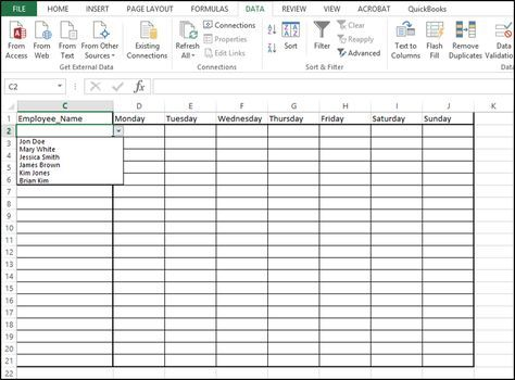 How to Add a Drop Down List In Excel- Tutorial Drop, Microsoft - spreadsheet formulas