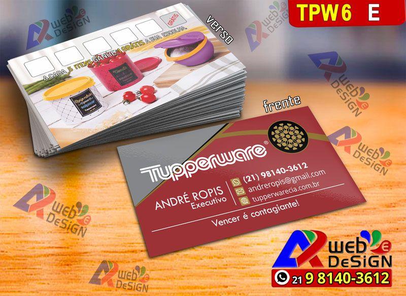 Modelos Cartoes De Visita Tupperware 21 98140 3612