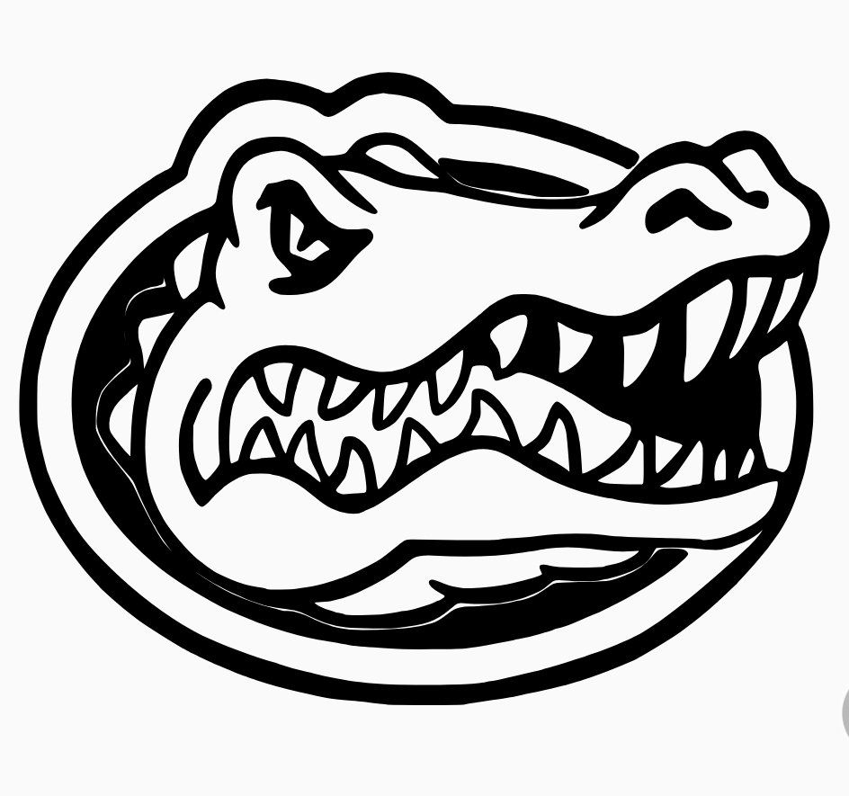 Florida Gators Decal Florida Gators Logo Gator Logo Florida