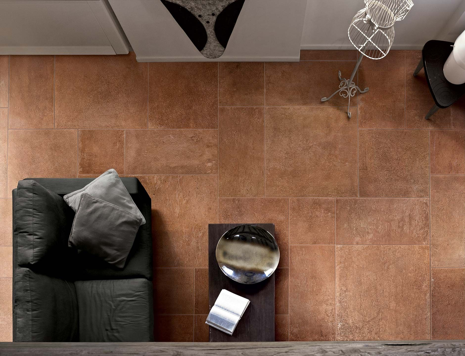 Terracotta tiles floor imitation with ceramic tiles terra terracotta floors tiles made of resistant ceramic porcelain stoneware collection terra by casa dolce casa terracotta tiles for rustic kitchens dailygadgetfo Gallery