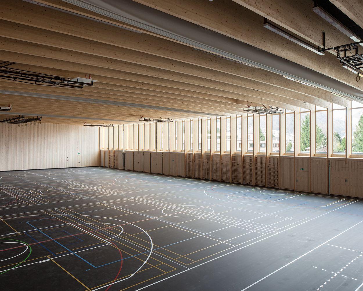 Gallery Of Sports Center Sargans Ruprecht Architekten