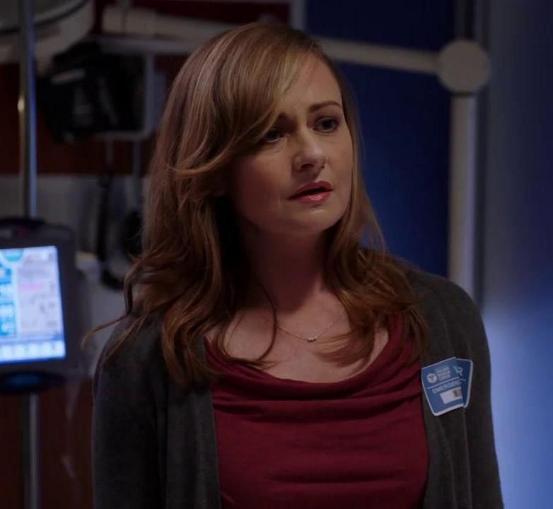 Sarah Is Talking To This Visitor Chicago Med Your Image