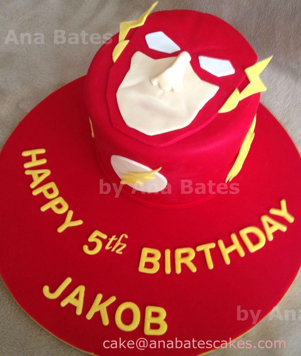 The Flash Cake AB Cakes  Cupcakes Pinterest Cake Birthdays - 5th birthday cake boy