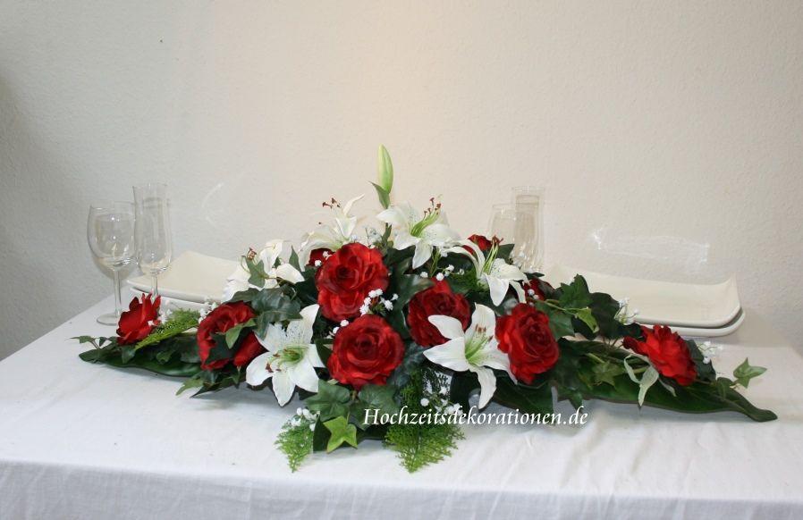 Altargesteck Lilien Lang Dekoration Hochzeit Tischgestecke Hochzeit Blumengestecke