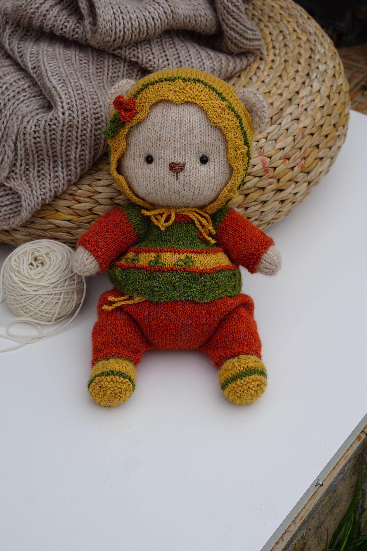 Pin on Teddy bear - Knitting Pattern