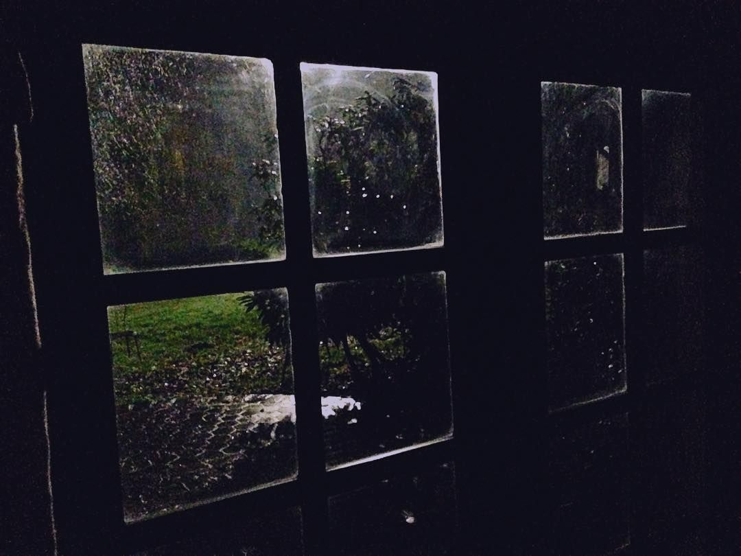 Window at night from outside -  Window Rain Night Outside Setlife Eerie Countryside By Gardenrunner