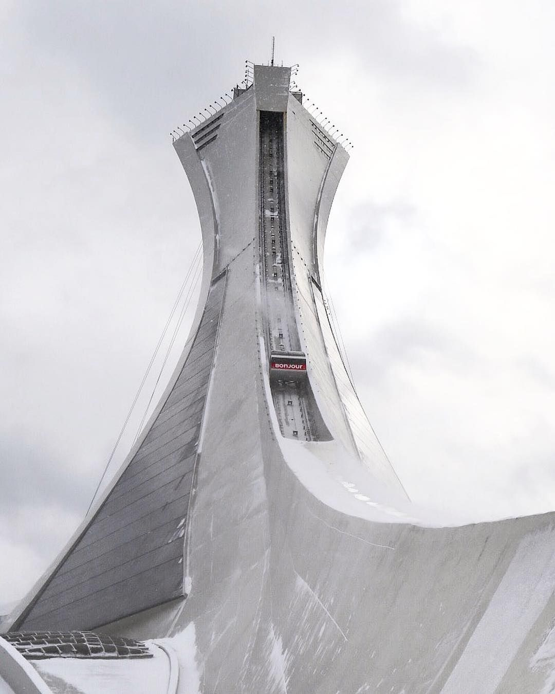 Pin By Ken Oks On Olympic Stadium Montreal 76 Olympic Stadium Montreal Montreal Stadium