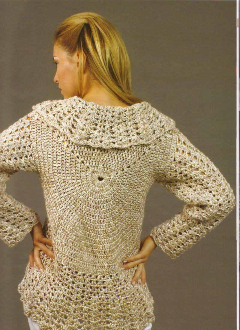 Tejidos Crochet Saco Circular Ideas Pinterest Trippy Hippy Afghan Pattern Kingdom